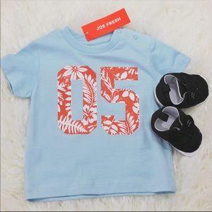 👶🏻 Baby Boy Joe Fresh 05 Graphic T-shirt. New